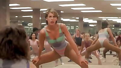 Jamie Lee Curtis Hip Thrusting