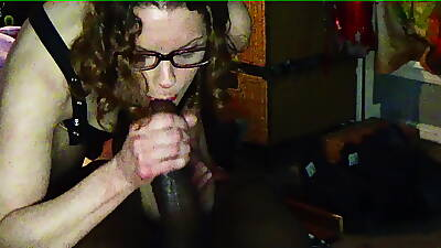 wan bbc cumslut wife swallows another threatening load