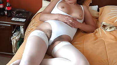 Of age WIFE EXHIBITING HAIRY PUSSY, TITS, ASS, EROTICISM