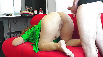 Mam Respecting Thong Lets Stepson Fuck Her Respecting The Ass