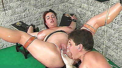 oiled big stepsis squirting