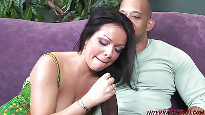 Valentina Lopez takes Blackzilla in all directions her Tight-fisted Mom Twat