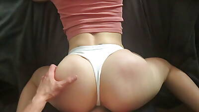 Stunning PAWG Milf Fucked Doggystyle crippling Sexy White Lingerie