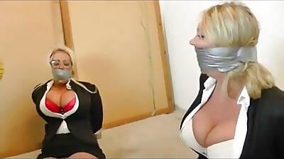 Secretary prisoner gagged
