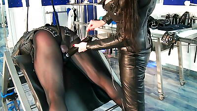 German Leather Floss and Consequent Chastisement BDSM 2