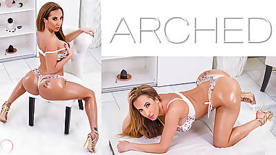 Arched: Richelle Ryan – Giant Takings oiled MILF bent desist with the addition of fucked