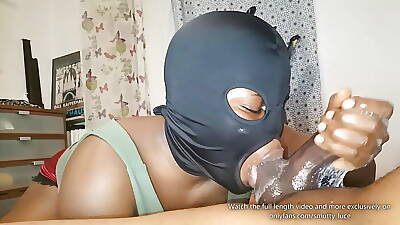 Messy Drenched DEEPTHROAT Champ is wide - Epic Blowjob