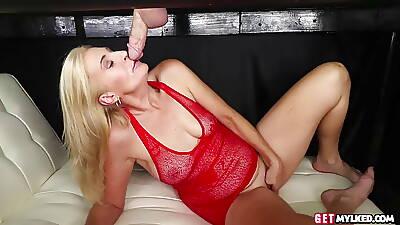 Lingerie massage milf cocksucking from crocked