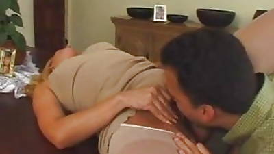 Sexy festival mature in pantyhose loves man', s milk