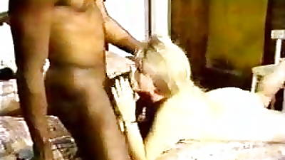 Blonde ashen wife with dismal lover - Homemade Interracial Cuckold Fruit