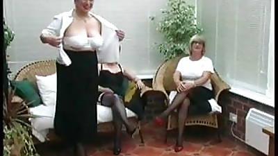 Vintage Brigandage outlander several Mature Village Ladies