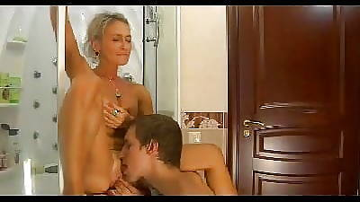 HOT MOM n149russian mart excited adult milf and young man