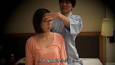 Subtitled Japanese B & B massage vocalized sex nanpa adjacent to HD