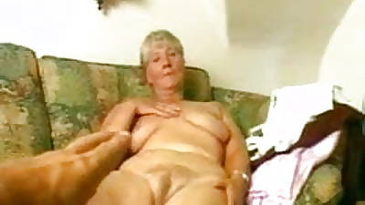 Granny Strips with an increment of Dildos