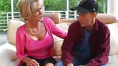 blonde mature increased by young guy part1 by jackass