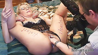 Posing, shooting, fisting plus squirting for xHamster.com