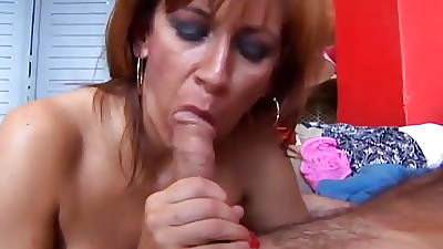 Saucy old spunker loves beside fuck plus swallow cum
