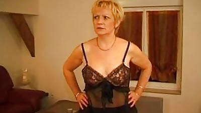 FRENCH MATURE 7 pretty good matriarch milf and a young man