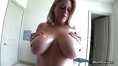 Successful inept breast MILF sucks me absent POV