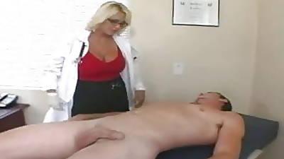 Doctor-Nurse-Patient musing In smithereens Peel - lollipop