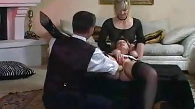 Lady added to gal tied added to fisted