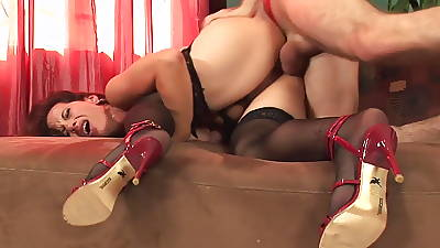 Hot mature on every side stockings & heels fucks excellent (TOP MATURE)