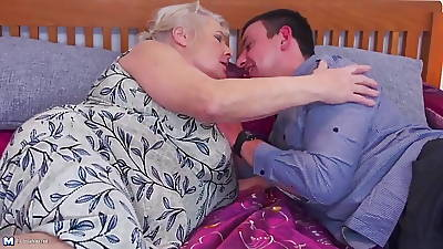 Old granny gets say no to persist in sex with young boy