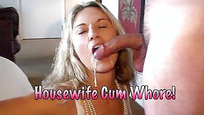 Housewife Cum Whore!