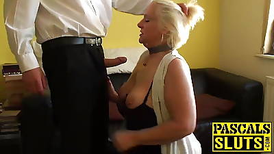 Naughty granny Carol is hungry of some really dirty fucking