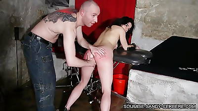 french fisting bdsm threesome rough sex grown-up slut