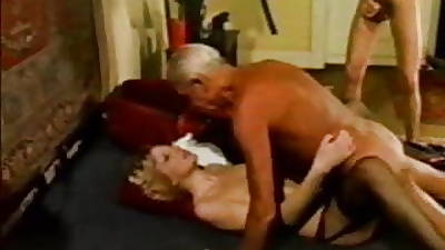 Doyen Sponger ....Grand Dad  Jean Villroy Shagging Hot Babe