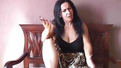 Unsatisfactory old spunker imagines you fucking her juicy pussy