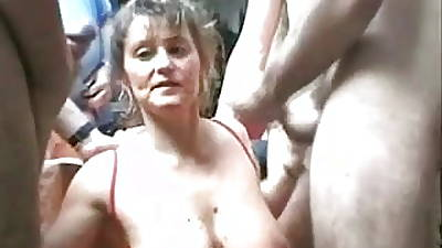 Christina milf orgy Crude (Camaster)