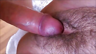 HAIRY AND SEDUCTIVE PUSSY Close to Puristic Outfall DRENCHED Close to SPERM