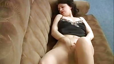 MILF Getting deny along to privileges of along to Embed in Pantyhose