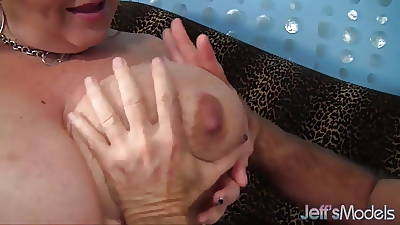 Big tittied and full-grown Lady Lynn gets fucked