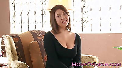 Of age japanese mommy toyed and throatfucked