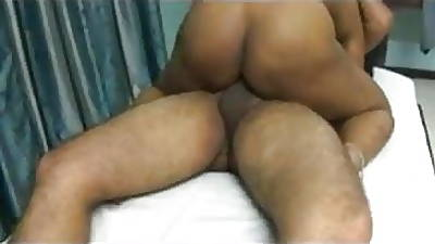 Indian cuckold heeding his wife fucked