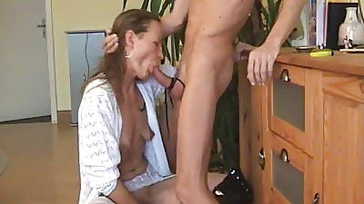 german wed deepthroat gagging bj