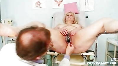 Mature Miriam fetish gyno third degree send back third degree