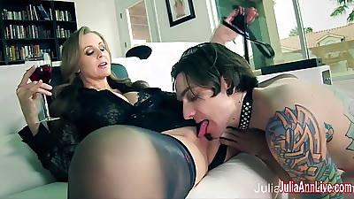 Julia Ann Demands Say no here Rent-boy here Service Her!