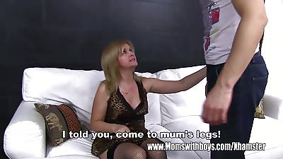 Grown-up Comme ci Stepmom Arse Castigating Her Stepson