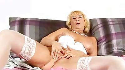 Granny fro White Lingerie added to Stockings Toys added to Fingers