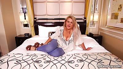 Lay Cougar Slut Fucked Hard Anal POV