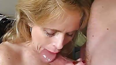 Most assuredly X-rated mature newborn loves a sticky facial cumshot