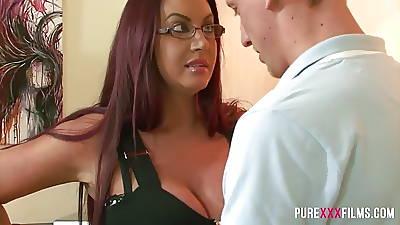 Stepmom has huge bosom