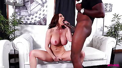 Kendra Yen sucks massive black dick unsystematically gets fucked