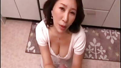Japanese mom pov suck (cens)