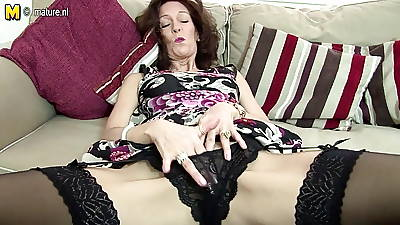 Hot wasting away granny sets say no to pussy heavens fire