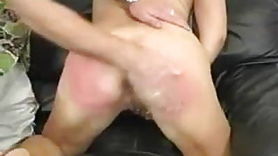 Blonde Milf Property Say no to Ass Spanked Very Unchanging